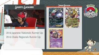 2016 Pokémon World Championships TCG Juniors Finals