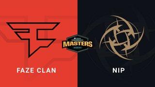 FaZe vs NiP - Group A - Nuke - CORSAIR DreamHack Masters Dallas 2019