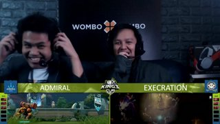 [FIL] ADMIRAL vs EXECRATION | Game 1 | King's Cup Group Stages