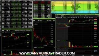 danytrader temps fort dany murray stock market live trading avec