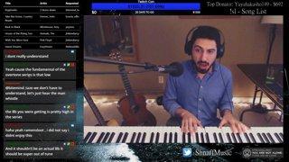 robot voice improv