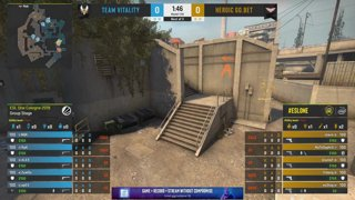 CS:GO - Vitality vs. Heroic [Overpass] Map 1 - Group B - ESL One Cologne 2019
