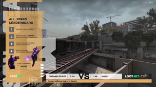 (EN) DreamEaters GG.BET vs HAVU | map 2 | Loot.bet/CS Season 3 |  by @oversiard & @VortexKieran