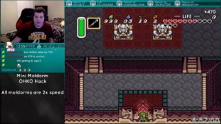 A Link to the Past | OHKO Mini Moldorm 2x Speed Hack Part 2