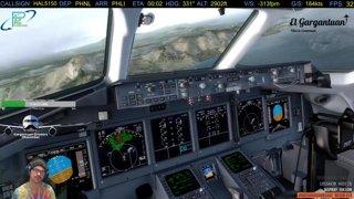 Rwy 3 Visual into Lihue | TFDi Maddog 95