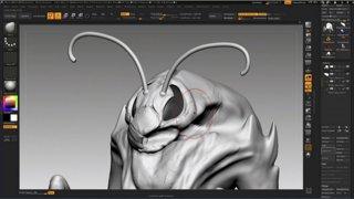 ZBrush Sunday: Luca Nemolato designs and sculpts a wasp creature