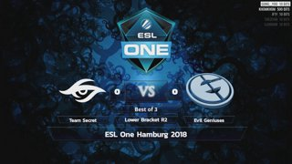 [LIVE-THAI] 🏆 ESL One Hamburg - Playoff - 26/10/18 - Cyberclasher