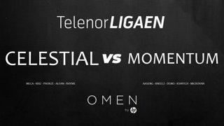 Telenorligaen Høst 2018: CS:GO Runde 8! Celestial Gaming vs Momentum esports