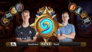 hunterace vs Pavel - Group 1 Decider - Hearthstone Grandmasters Europe S2 2019 Playoffs