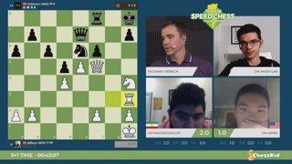 JSCC Semifinal - Parham vs Xiong - Hosts GM Giri and IM Rensch