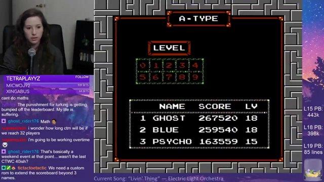 NES Tetris (NTSC) PB: 477,360
