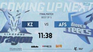 LCK Spring Finals: KZ vs. AFS