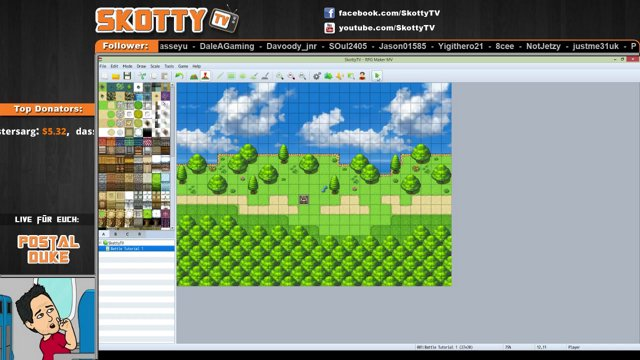 RPG Maker MV - Tutorial 04 - Fluid Time Step
