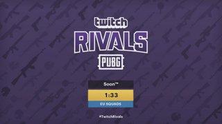 Twitch Rivals PUBG