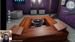 Basement Bathroom Dungeon Spa!!