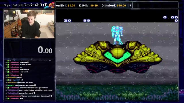 Super Metroid: Any%
