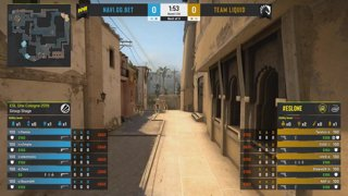 CS:GO - NaVi vs. Team Liquid [Mirage] Map 3 - Group A - ESL One Cologne 2019
