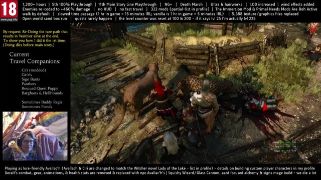 Playing As Avallac'h - 5th 100% Run (11th Main Story Run) - 322 Mods - NG+  Death March Enemies +460% - Custom Combat - EP 714