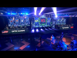 видео: VGJ.Thunder vs OpTic Gaming, game 1
