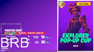 45 Point Pop Up Cup WIN