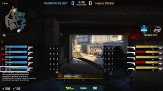 1 Avangar vs Heroic bo3 by ceh9 & Pchelkin