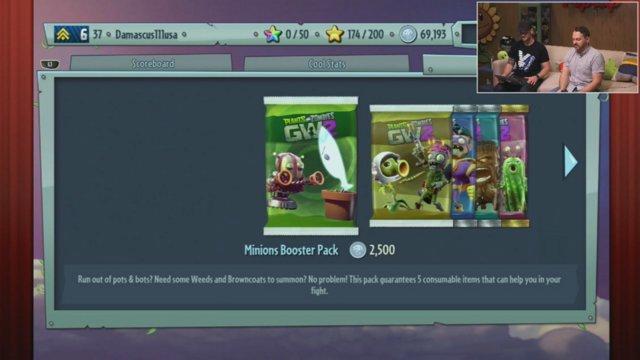 PlantsVersusZombies - PvZGW2 Gameplay! | Plants vs. Zombies Garden ...