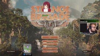 Strange Brigade with Sark Sham NFEN