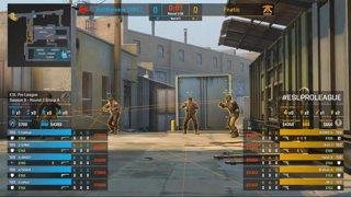 CS:GO - Fnatic vs. HellRaisers [Train] Map 3 - Group A - ESL Pro League Season 9 Europe