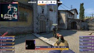 BLAST Pro Series Lisbon 2018 – Round 4: Astralis vs. MiBR