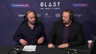BLAST Pro Series Lisbon 2018 – Round 5: MiBR vs. Na'Vi