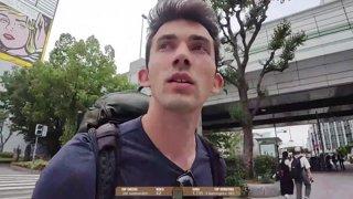Highlight: Hitchhiking Japan ( Day 25 ) Location: Osaka