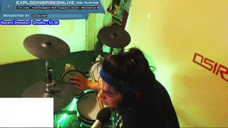 Tut Tut Child - Hummingbird (feat. Augustus Ghost) | Bling Drum Cover Live on Twitch