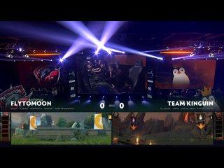 видео: FlyToMoon vs Team Kinguin, game 1