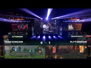 видео: FlyToMoon vs Team Kinguin, game 2