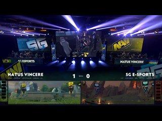 видео: Natus Vincere vs SG esports, game 2