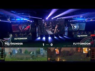видео: VGJ.Thunder vs FlyToMoon, game 2