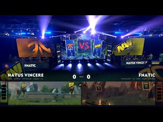 видео: Fnatic vs Natus Vincere, game 1