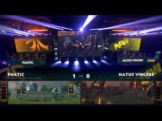видео: Fnatic vs Natus Vincere, game 2