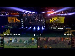 видео: Fnatic vs Natus Vincere, game 3