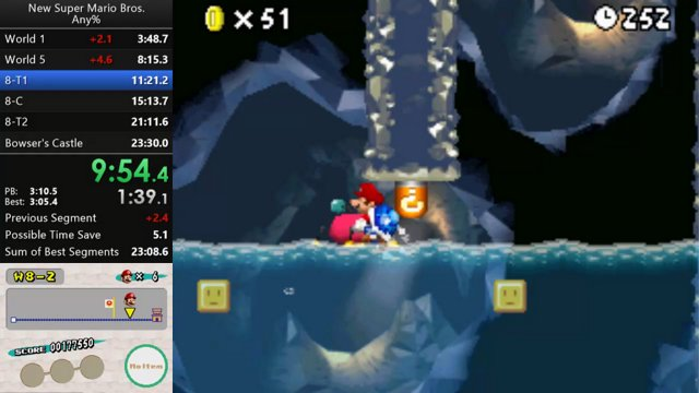 WR] New Super Mario Bros  Any% in 23:28 : speedrun