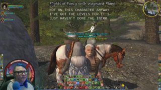Стрим LotRO lotrostream Flights of Fancy with Wayward Plane #Captions