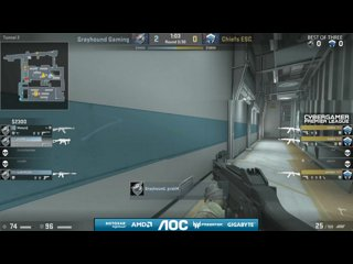 AOC CGPL Winter Finals - Grayhound Gaming - Chiefs ESC Game 1