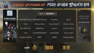 [ENG] HOT6 PUBG Survival Series Beta - Squad Mode / day.4