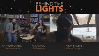 Aron Stevens joins Anthony Carelli and Alicia Atout! Behind the Lights: Episode 23