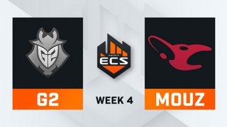G2 vs Mousesports - Map 2 - Dust 2 (ECS Season 7 - Week 4 - DAY1)