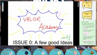 Valor Academy 0: A Few Good Ideas