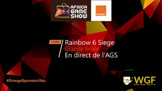 Africa Game Show - Rainbow 6 - Finale Virtual Esport VS Unknights PART 1