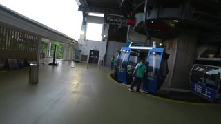 Glass Bottom Cable Cars in Hong Kong