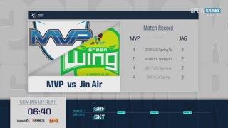 LCK Summer: GRF vs. SKT - MVP vs. JAG