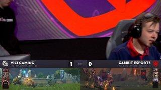 [RU] Vici Gaming vs Gambit Esports, Game 2, StarLadder ImbaTV Dota 2 Minor Grand Final